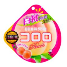 UHA 悠哈味觉 日本水果汁 软糖 cororo 桃子味
