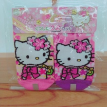 Kitty Cherry Series Socks (for children / 2 pair set)