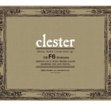 Crester Watercolor Paper Block 210g Middle Eye CB-F8