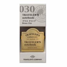 Traveler  notebook brass clip TRC logo pattern 43089006