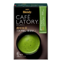 AGF Blendy Cafe Latrie Stick Tjock Matcha 6