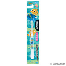 Reach kids for primary teeth period 1 to 6 years habrush Nemo Ginza Stephanie Toothbrush for children Color leave