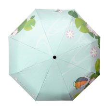 Natsume's Book of Friends Nyanko-sensei Parasol Folding umbrella Three-fold one-touch automatic opening UPF50 + UV cut 100%