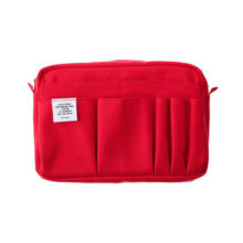 DELFONICS inner carrying M red 15 pocket / A5 size