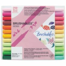Bamboo Bamboo Water-based Pen ZIG MS Brushables 24 colors MS-7700 / 24V