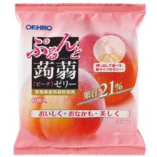 Orihiro Purin và thạch dâu tây đào (20g × 6)