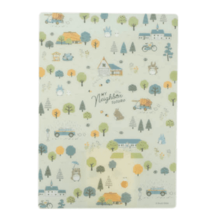 My Neighbor Totoro Underlay Forest Totoro Pattern