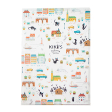 Kiki's Delivery Service Clear File Korico Walk White