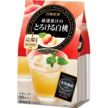 Nitto black tea 10 white peach melt in carefully selected juice