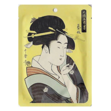 Ukiyoe Series Kayo Line Geiko Vitamin + Edo Purple Essence Mask 1 Sheet 25g