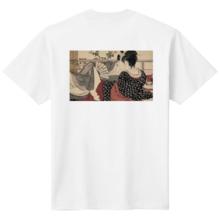 Shunga back print T-shirt