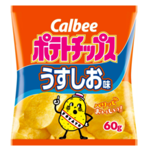 Calbee potato chips