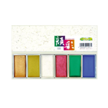 Sumidodo Paint Facial Metallic 6 Color Set 15500