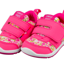Akachan Honpo Children's shoes Easy to wear shoes Pink