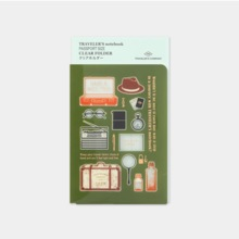 Traveler's Note Passport Size Clear Holder 2020 (14414006)