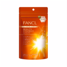 "FANCEL Beauty Synergy Item No .: 3181-01 About 30 days 180 tablets * Beauty Synergy will be discontinued with the launch of ""Beauty Rise"" in late October."
