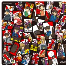 ムービック hobo日手帖 名探偵コナン week サイズ:W9.4×H18.8×D1cm 仕様:紙 240ページ