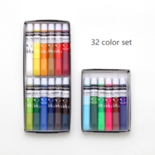 Gekkoso gouache (opaque watercolor) 32 colors set(Only 1 quantities are available per person)