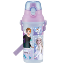 Skater PSB5SANAG Antibacterial direct drinking plastic bottle Anna and the Snow Queen (21) [Character goods] * Up to 2 per person