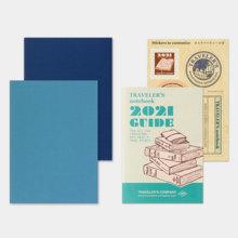 TRAVELER'S NOTE Passport size refill 2021 weeks (14422006)