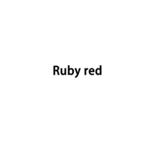 isaro Limited Color Ruby red 20ml