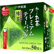 ITO EN Oi Tea Premium Tea Bag Green Tea with Uji Matcha 1.8g x 50 Bags [Tea Bag]
