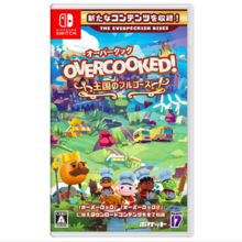 Pocket pocket Overcooked! (Over Cook) Kingdom full course [Nintendo Switch software]
