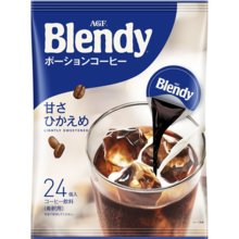AGF Blendy Potion Coffee 24 pieces [Ice Coffee] [Coffee Potion]